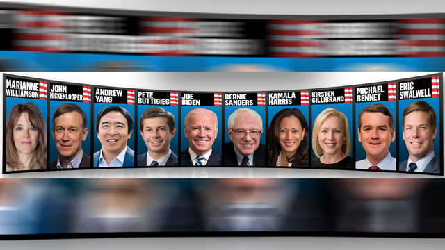 Fiery Democratic debate: Race, age, health care and President Trump