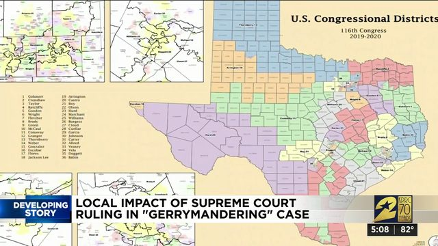 Local impact of Supreme Court ruling in gerrymandering case