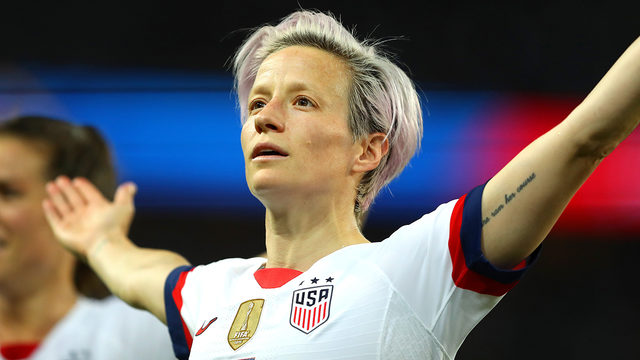 Megan Rapinoe: These are memes celebrating her bold stance after team's…