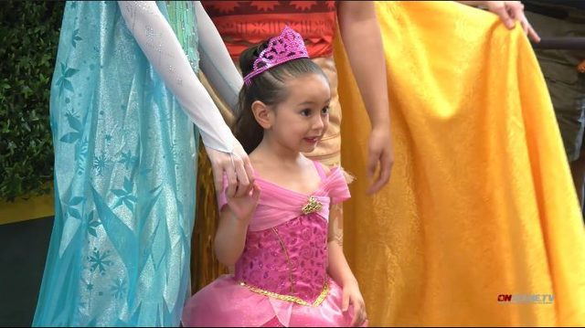 Astros celebrate Princess Day at Minute Maid Park