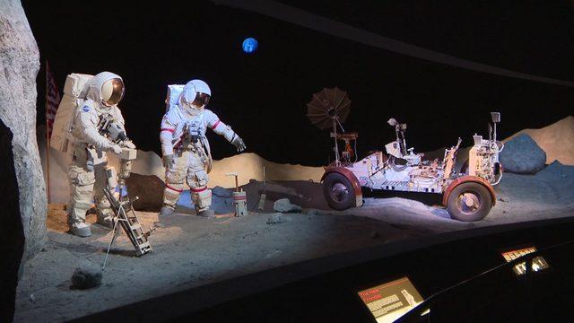 Celebrating at Space Center Houston