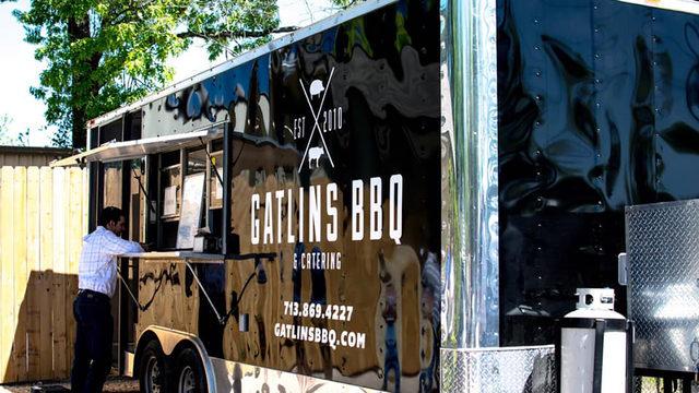 Gatlin's BBQ catering trailer stolen