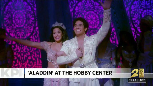 'Aladdin' at the Hobby Center