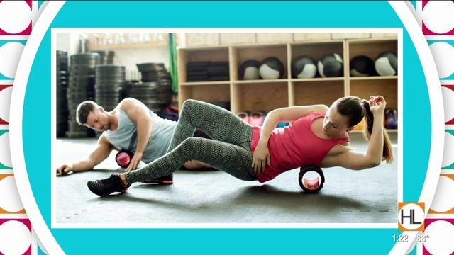 How to exercise with foam rollers: Houston trainer shows 5 moves to try…