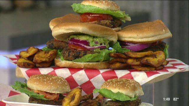 Houston Vegan blogger shares recipe for black bean burgers | HOUSTON…