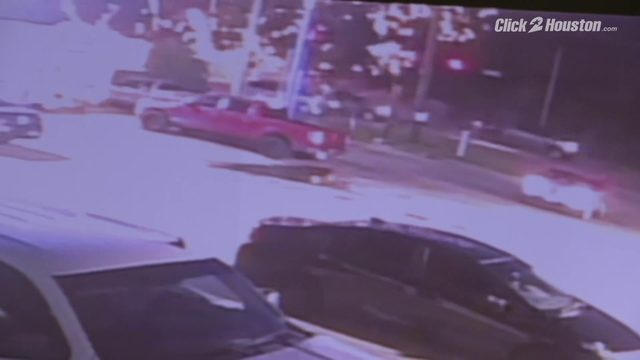 Surveillance video of road rage shooting that ignited fireworks in truck