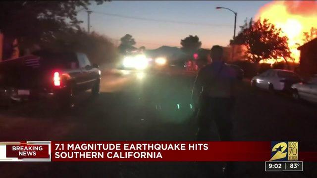 Second earthquake hits California
