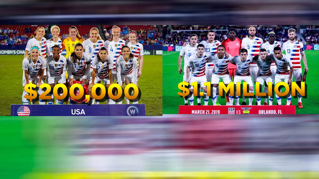 Women's Word Cup victory sparks debate over equal pay