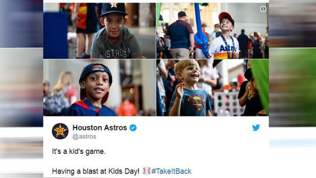 Minute Maid Park hosts Kids Day for young Astros fans