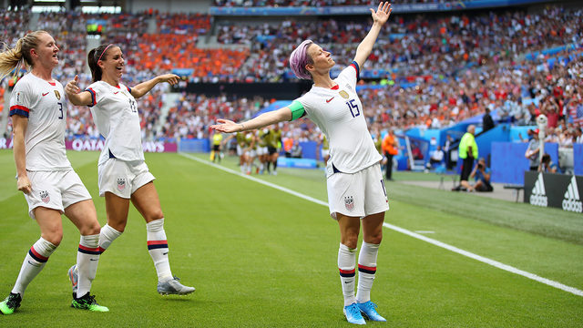 World shares congratulations for US women on fourth World Cup title