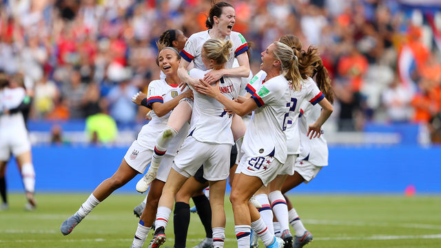 United States beats the Netherlands 2-0 to win its fourth Women's World…
