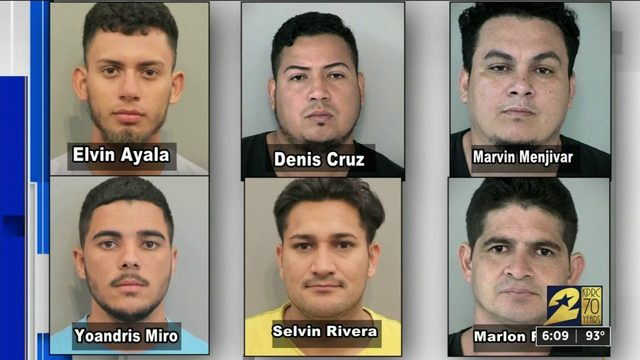 6 arrested in connection with dozens of home burglaries
