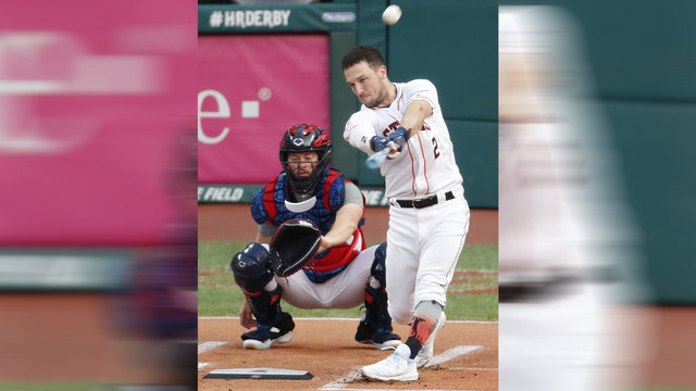 Alex Bregman eliminated from Home Run Derby in first round