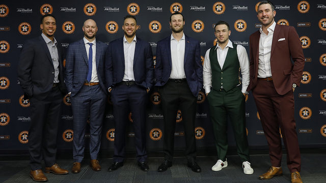 Get to know the 'Stros in the 2019 All-Star Game