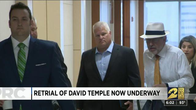 Retrial of David Temple now underway