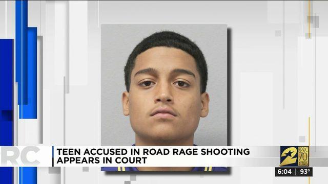 Teen accused in road rage shooting appears in court