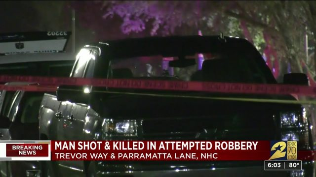 Suspect dead, victim injured after robbery turns into shootout