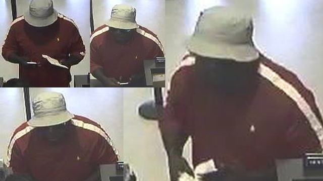 FBI searching for 'burly bank robber' accused of hitting Houston bank
