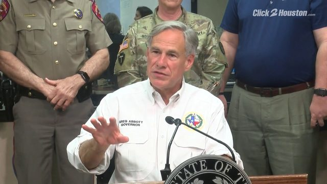 Gov. Abbott speaks about tropical disturbance in Gulf