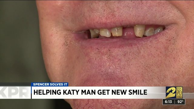 Helping Katy man get new smile