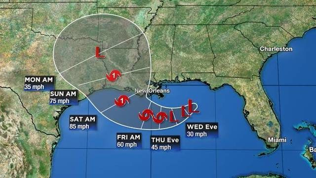 Tracking the tropics: NHC issues first path of disturbance in Gulf of Mexico