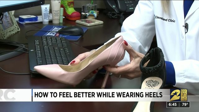 Preventing pain associated with high heels
