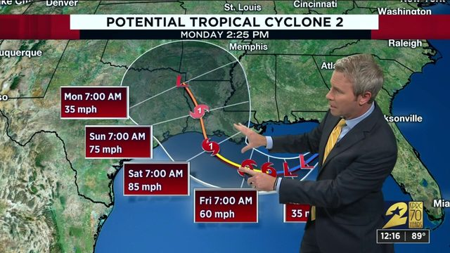 Tracking the tropics update for Wednesday afternoon