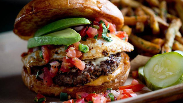 Top 12 burgers in Houston
