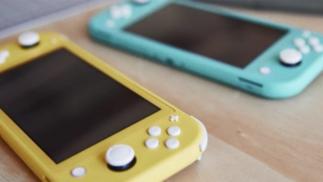 Nintendo announces a $199 Switch Lite handheld video game system