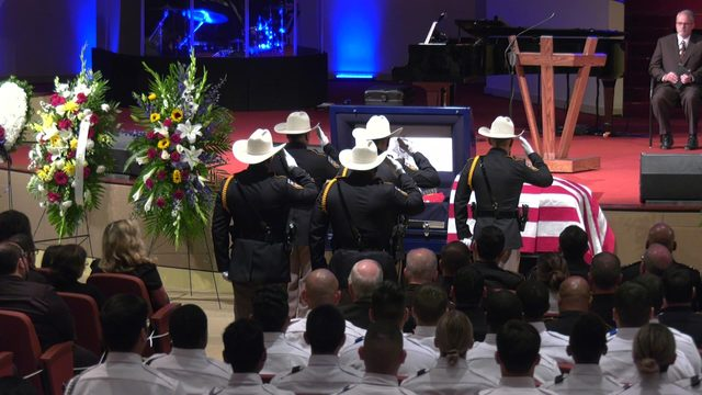 Loved ones, colleagues gather to say final goodbye to Harris County…