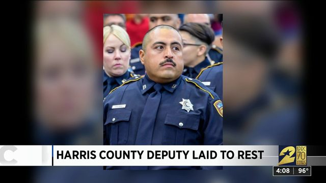 Harris County deputy laid to rest