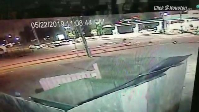 Hit-and-run driver caught on camera