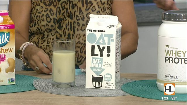 Houston dietitian breaks down the best milk replacements you can find at…