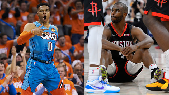 Rockets trade Chris Paul to Thunder for Russell Westbrook