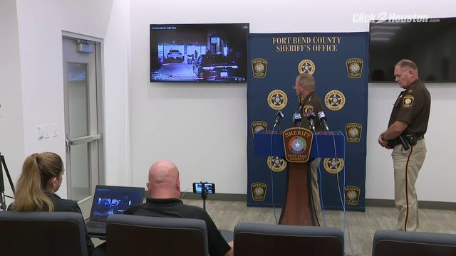 Fort Bend COunty Sheriff Troy Nehls talks about Elandon Roberts' traffic stop
