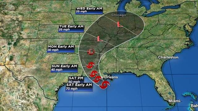Tracking the tropics: Tropical Storm Barry slowly moves toward Louisiana