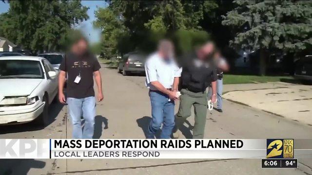 Mass deportation raids planned