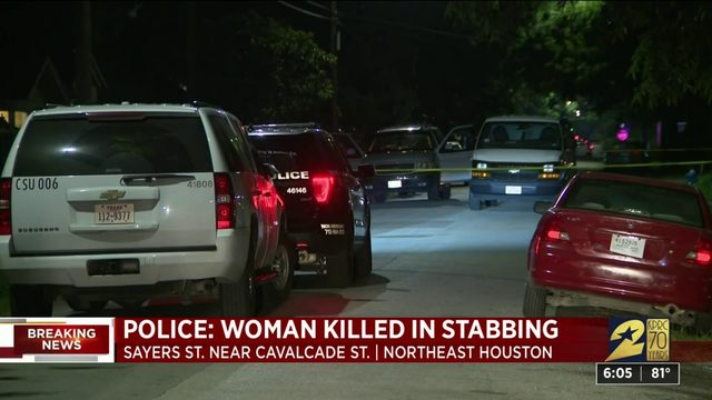 Police: Woman killed in stabbing