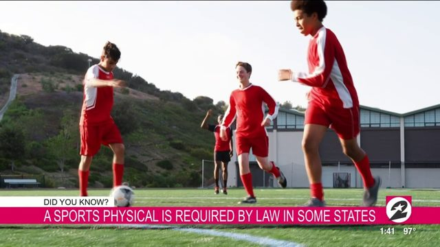 Why you should schedule your child's sports physical now | HOUSTON LIFE | KPRC 2