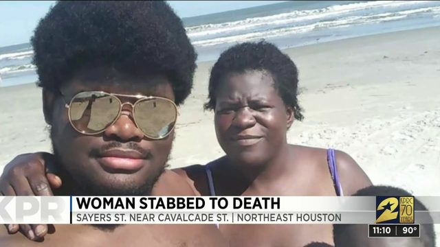 Woman stabbed to death