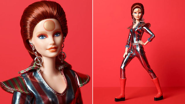 Barbie gets a David Bowie makeover, becomes Ziggy Stardust