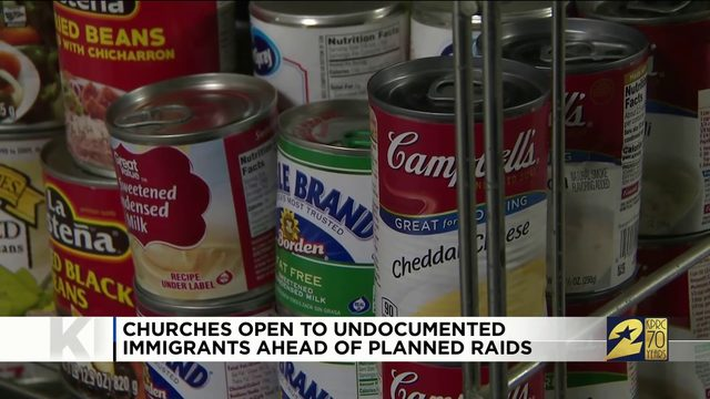 Churches Open to Undocumented Immigrants Ahead of Planned Raids