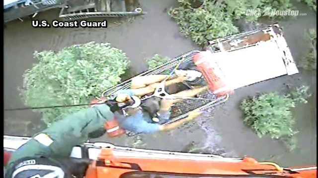 Coast Guard rescues 12 people, pets from Louisiana floods