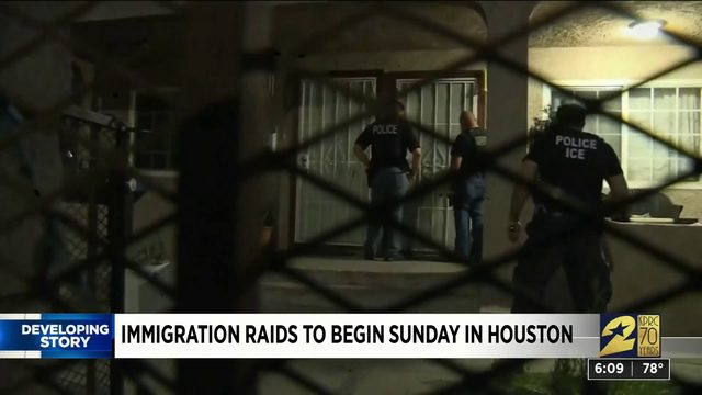 Immigration Raids to Begin Sunday In Houston