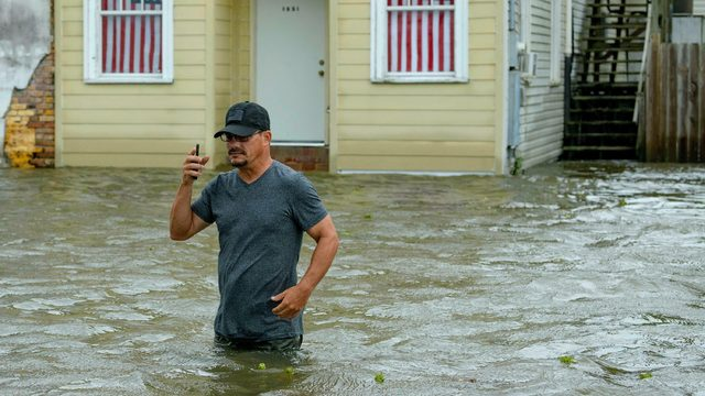 5 must-see photos, videos of Tropical Storm Barry's impact