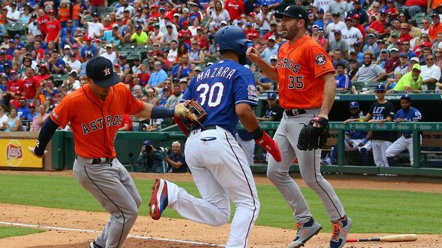Verlander, Altuve lead Astros to 12-4 win over Rangers