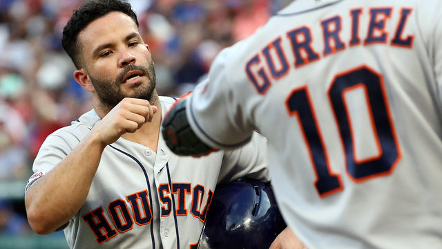 Astros score 3 in 11th to beat Rangers, avoid 3rd straight loss