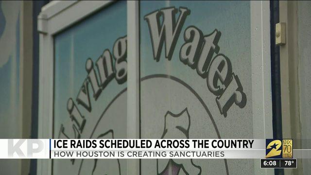 Houston creates sanctuaries as ICE raids planned