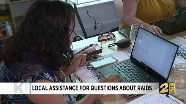 Local Assistance for Questions About Raids