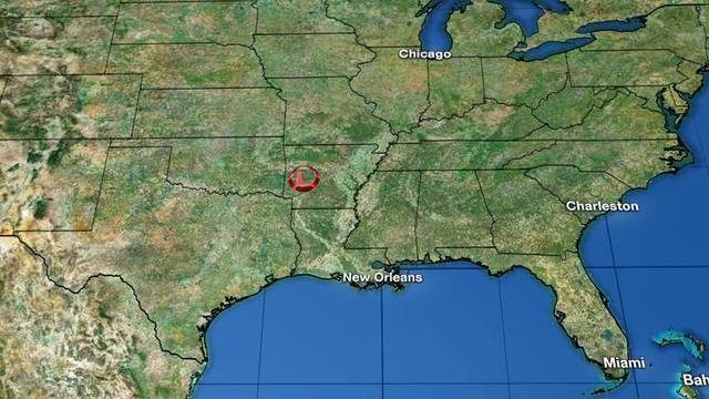 Tracking the tropics: Tropical Depression Barry spins over Arkansas